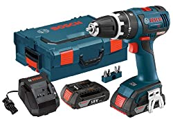 Bosch HDS182-02L 18-volt Brushless 1/2-Inch Compact Tough Hammer Drill/Driver