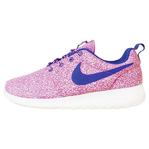 Nike Wmns Rosherun Print, Zapatillas Mujer, Blanco 137, 38.5 EU