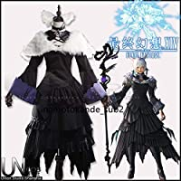 ファイナルファンタジーXIV FF14 黒の魔法使い ヤ・シュトラ コスプレ衣装