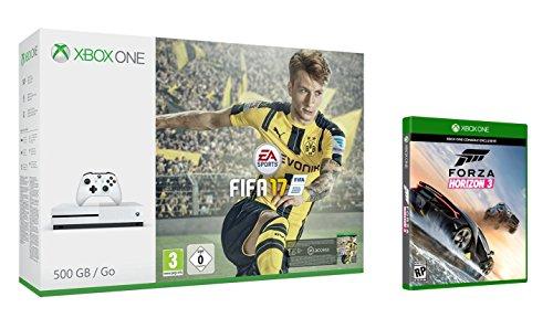 Xbox One S 500GB + Fifa 17 + Forza Horizon 3: Amazon.es: Videojuegos