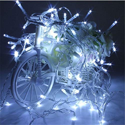 LED Battery Light 10M80 Light Lantern Flashing String Light Wedding Star Christmas Decoration LightBlue