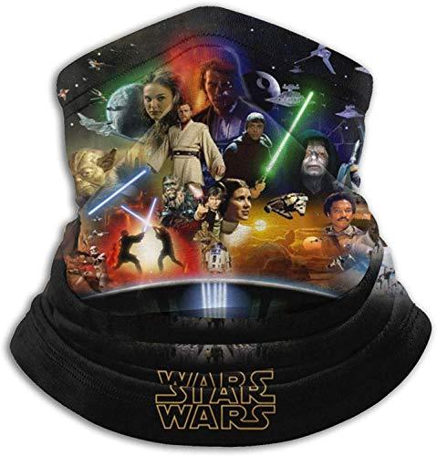Star Wars Bandana multifunción para el cuello, para pasamontañas, color negro