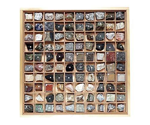 岩石標本(岩石標本100種) /3-657-08