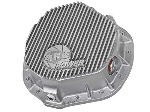 aFe Power 46-70010 Dodge and GM Diesel Rear Differential Cover (Raw; Street Series)