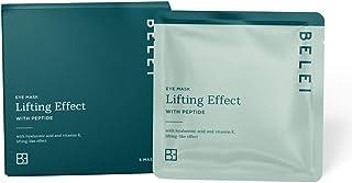 Amazon-merk - Belei - Lifting Effect Hydrogel, druppelvrij oogmasker met peptide, verpakking van 5 stuks
