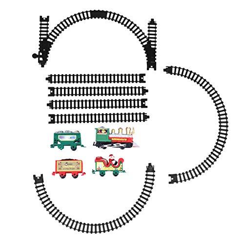 Toddmomy 1 Caja Juego de Trenes Navideños Rompecabezas 3D para Adultos Niños...