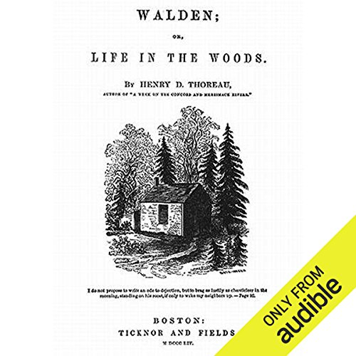 Walden audiobook cover art