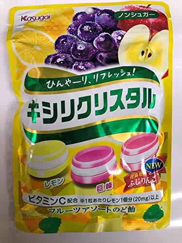 春日井 キシリクリスタル フルーツアソートのど飴67g×6袋