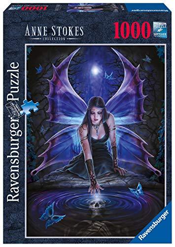 Ravensburger Puzzle 1000 Piezas, El Hada de Anne Stokes, Colección Fantasy, Rompecabezas de Calidad, Jigsaw para Adultos