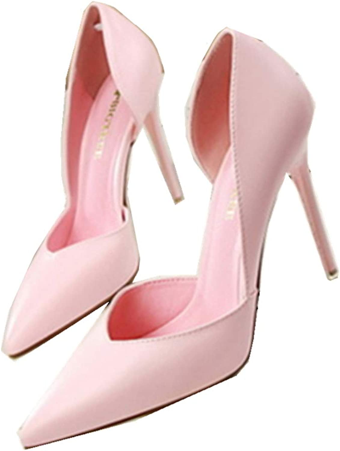 YYZHAO Classic Slip On Pointed Toe High Heel Wedding Dress Pumps shoes