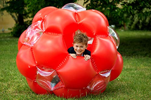 LEXIBOOK Bola Gigante Hinchable, Juego Exterior, soporta hasta 68kg (B