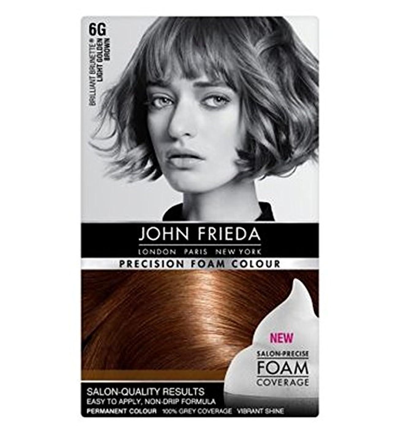 リフト適応まっすぐにするJohn Frieda Precision Foam Colour 6G Light Golden Brown - ジョン?フリーダ精密泡カラー6グラムライトゴールデンブラウン (John Frieda) [並行輸入品]
