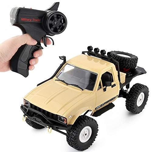 ksovvoo Remote Control Truck 1/16 Radio Control Off-Road Car Drive Drive Drive Clubbing Coche Juguetes Juguetes Edad 4,5,67,8,9 AÑOS Boy Girl Chica Interior DE Interior