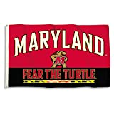 BSI NCAA College Maryland Terrapins 3 X 5 Foot Flag with Grommets