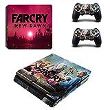 FENGLING Farcry New Dawn Style Skin Sticker per Console PS4 Slim e Controller Decal Skin per Pelli Coprono Gli Accessori di Gioco