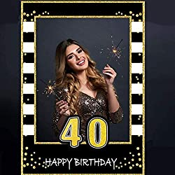 Make your event memorable! Photo frame props a great idea to bring life to a party, and create awesome memories with it. Best Idea Ever ! Our custom designed 40th Birthday Photo Prop Frame is an absolute must! It is like an instant photo booth for wh...