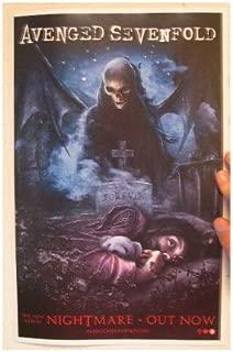 Avenged Sevenfold Seven Fold Poster Nightmare