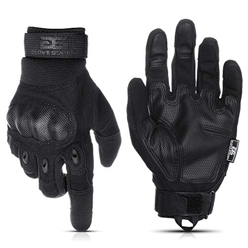 Glove Station The Combat Military Police Outdoor Sports Tactical Rubber Knuckle Gloves for Men