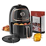 MisterChef® Air Fryer, VORTX Frying Technology, 30 Minute Timer and Adjustable Temperature Control