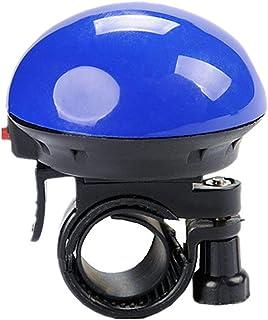 A19 Bicycle Air Horn Cycling Hooter Mushroom Bike Honk Universal Mountain Bike Alarm Durable Bike Accessories blue, Jaccy
