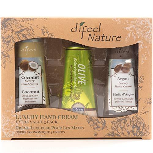Difeel Luxury Hand Cream Extra Value 3 Pack Set