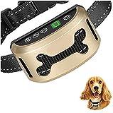 Anti BarkKragen Ton Vibration Bark Pet-Abschreckungsmittel 6 Funktionen Barking Prävention USB-Ladewasserdicht,Trainingshilfe für Hunde Halsband,Stoppt Hundebellen,Sicher & Schmerzfrei,Hundehalsbänder