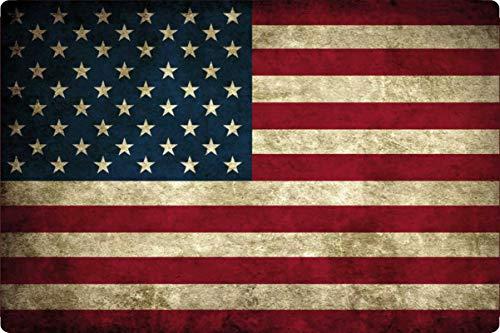Generisch blikken bord 30x20cm Verenigde Staten van Amerika USA Vlag van de nationale vlag vlag schild