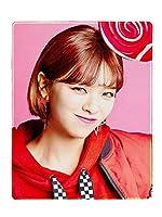 Fanstown KPOP 韓流 TWICE マウスパッド 「Candy Pop」アルバム ステッチ縁 滑り止めゴム底 44 x 35 cm
