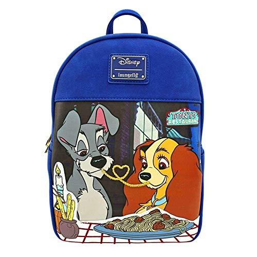 Loungefly x Disney Lady und The Tramp Mini Rucksack