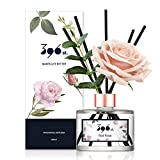 396 st. Flower Reed Diffuser, Red Rose(Also Known as Rose Perfume), 200ml(6.7oz) / Reed Diffuser Sets, Aroma Therapy,...