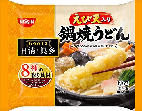 [冷凍]日清日清具多えび天入り鍋焼うどん293g×14個