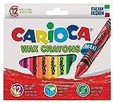 Carioca - Caja con 12 ceras pastel (A36150012) , Modelos/colores Surtidos, 1 Unidad