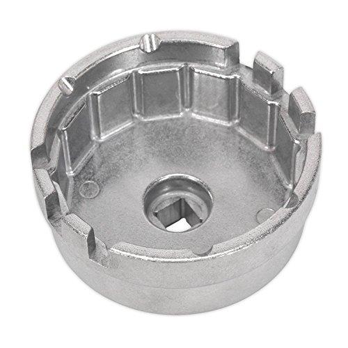 Sealey VS7111 Clé pour Bouchon de Filtre à Huile Ø 64,5 mm x 14 cannelures – Toyota