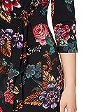 Gina Bacconi Women's Floral Wrap Dress Vestito da Cocktail, Multi, 50 Donna
