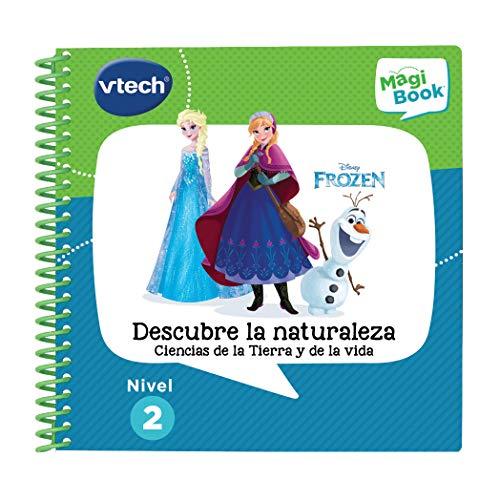 VTech  Frozen II Descubre la Naturaleza Libro para Magibook, Multicolor (3480 482122)