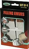 Axus Decor AXU/FKS4R Filling Knife Set, 25mm, 50mm, 80mm, 100mm