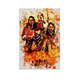 TIANDOU Red Dead Redemption II - Poster artistico da parete, stampa artistica da parete, 20 x 30 cm