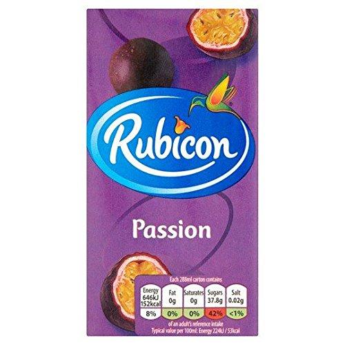 Rubicon Maracuja Frucht Saft - 288ml x 3 - 3-er Pack