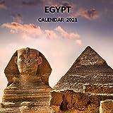 Egypt Calendar 2021: January 2021 - December 2021 Square Photo Book Monthly Planner Calendar Present | Egypt Lover Gift Idea For Men & Women