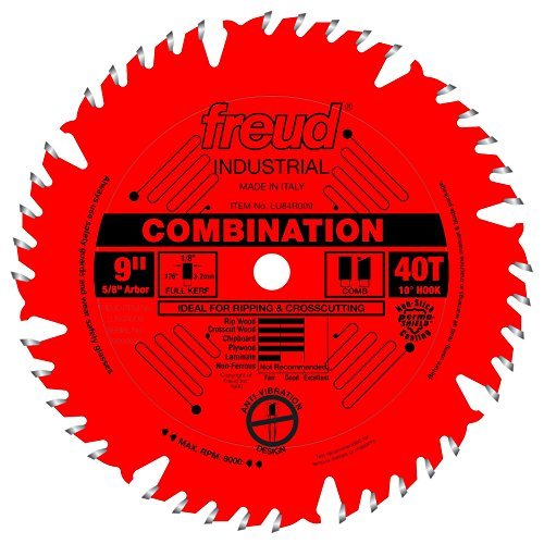 Freud 9' x 40T Combination Blade (LU84R009)