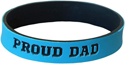 Reminderband - Custom Dual Layer 100% Silicone Wristband - Personalized Silicone Rubber Bracelet - Customized, Events, Gifts, Support, Causes, Fundraisers, Awareness - Men, Women, Kids
