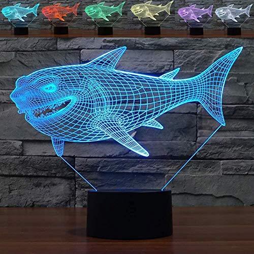3D Illusie Lampoptische Illusie Lampgeschikt voor Slaapkamer Woonkamer-Perfect geschenk voor Kinderen Paar Jongens Halloween Zwart Vrijdagtouch Knop Afstandsbediening USB-Vliegende Paard