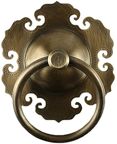 JJDSN Manija de Puerta de 1 Pieza, Resistente, Duradera, Tirador de Puerta, manija de Puerta, aldaba de latón para jardín, hogar
