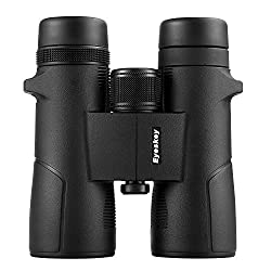 Eyeskey 8X42 Waterproof Binoculars for adults with Compact Size, Ideal Choices for Wildlife Viewing