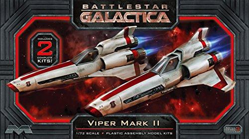 Moebius 1:72 Escala Battlestar Galactica Viper MkII Modelo