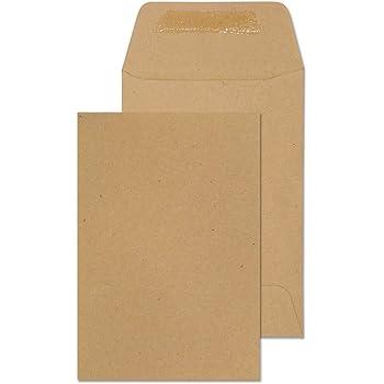 Liderpapel Sobre  Bolsa N.1 Kraft Salarios 100X150 Mm Engomado Caja De 500 Unidades