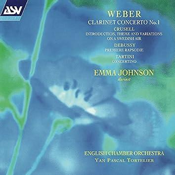 Weber: Clarinet Concerto No.1; Tartini: Concertino etc