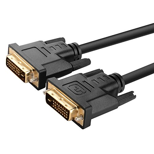 Insten 6 ft Dual Male M/M DVI-D to DVI-D Video Cable