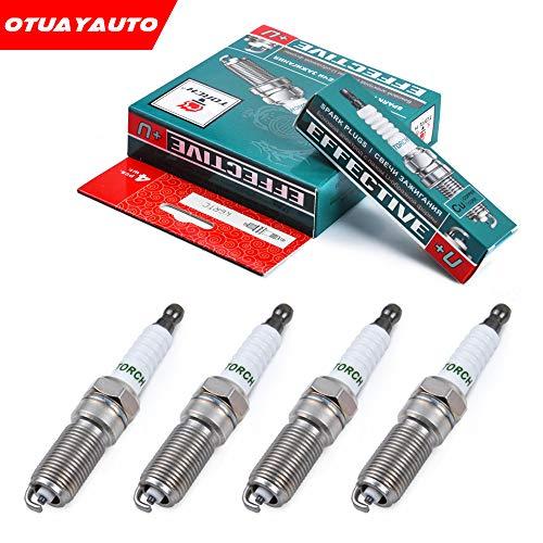 Preisvergleich Produktbild OTUAYAUTO 4x Zündkerzen für Focus 98-19,  Fiesta 92-17,  Cmax 03-07,  Mondeo 1 2 4