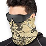 The Lord of The Rings Balaclava Headband Scarf Winter Face Cover Mask Neck Gaiter Scarf Bandana for Wind Sun Protection Black